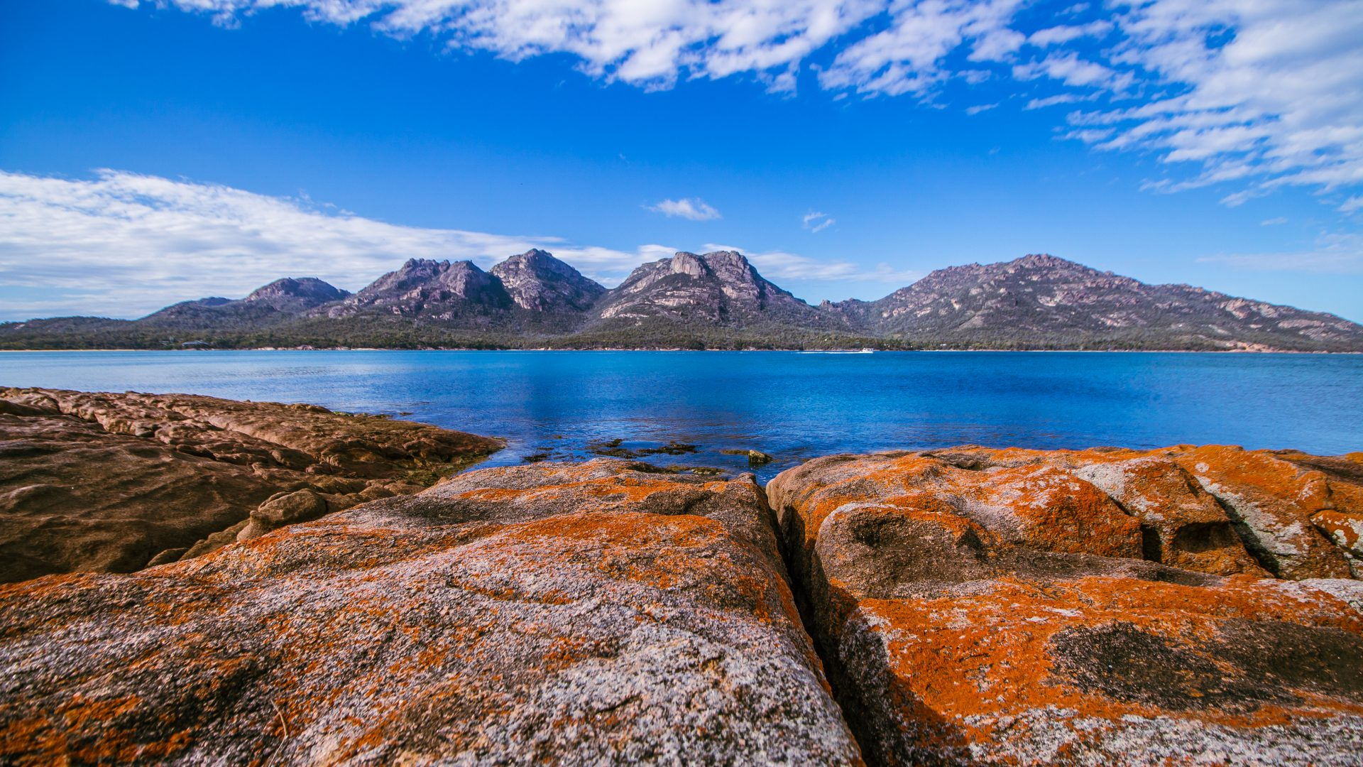 The Hazards in Freycinet National Park, Tasmania